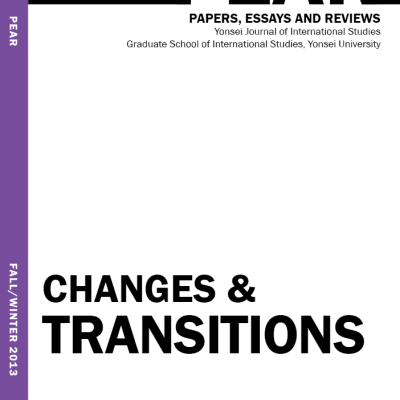 Changes & Transitions Volume 5, Issue 2 (Fall/Winter 2013)